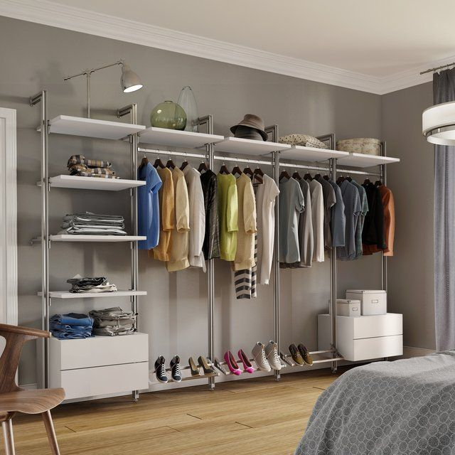 Large Closet Kit By Space Pro