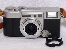 Fujifilm Klasse W 35mm Point & Shoot Film Camera 28mm Wide Angle Mint W/Case