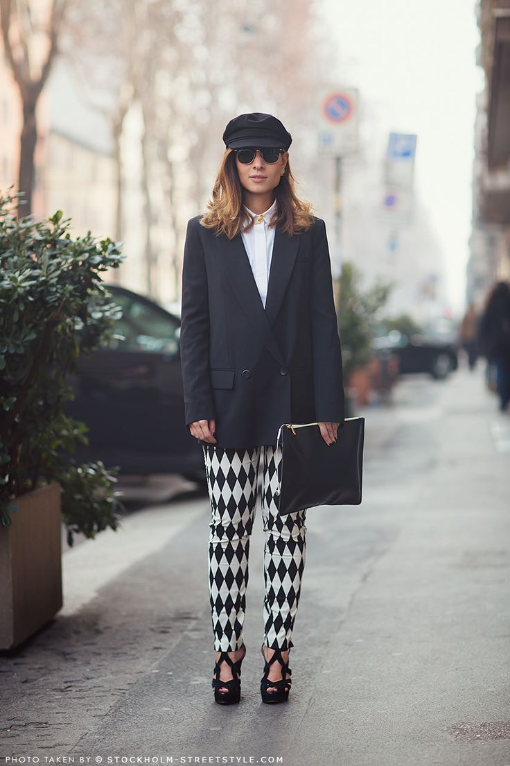 best bloggersstreet trends images on pinterest street fashion