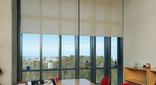 Budget Blinds Commercial Solutions eclectic roller blinds