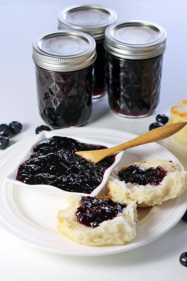 Blueberry Jam - Recipes Food and Cooking #FreshFromFlorida #IC ad