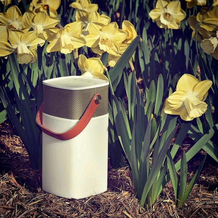 Kreafunk | aGlow a stylish wireless speaker from Kreafunk is an integration of a Bluetooth speaker, LED lamp and powerbank all fused in one elegant design. Stylishly aesthetic to behold, aGlow wireless speaker elegantly integrates the home, the garden and outdoor lifestyle into one.