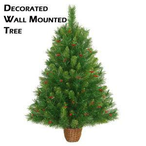 xmasdirect.co.uk decorated half tree £52.24