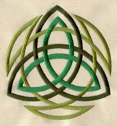 Trinity | Urban Threads: Unique and Awesome Embroidery Designs