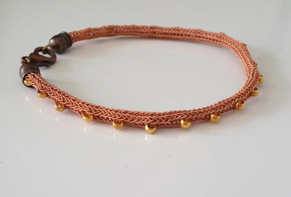 Handmade brass  kazaziye bracelet lovely special by JustBracelet, $42.00 handmade, chic, antique technics