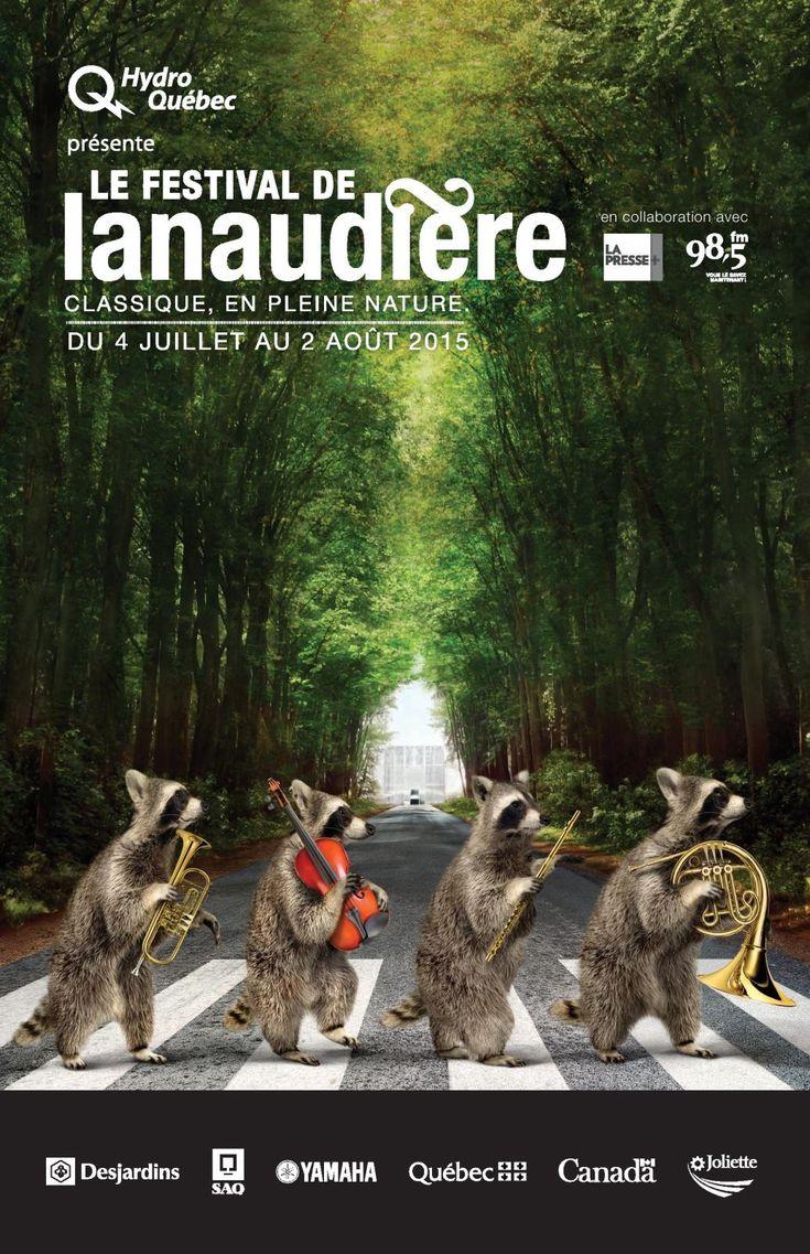 Musique et nature à l'honneur dans la campagne du Festival de Lanaudière