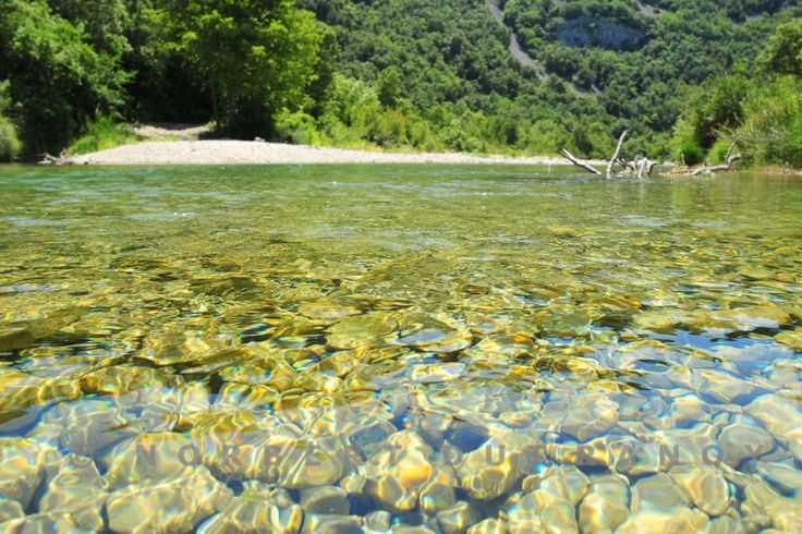 la vallée de l'Ibie en Ardèche-
