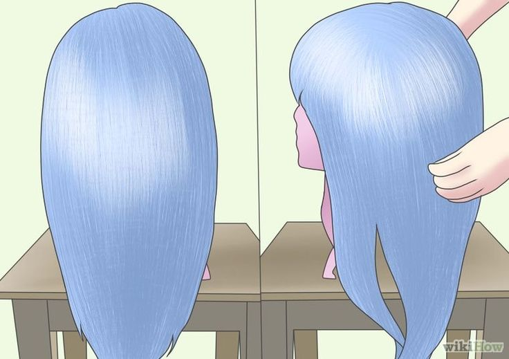 How to dye a synthetic wig