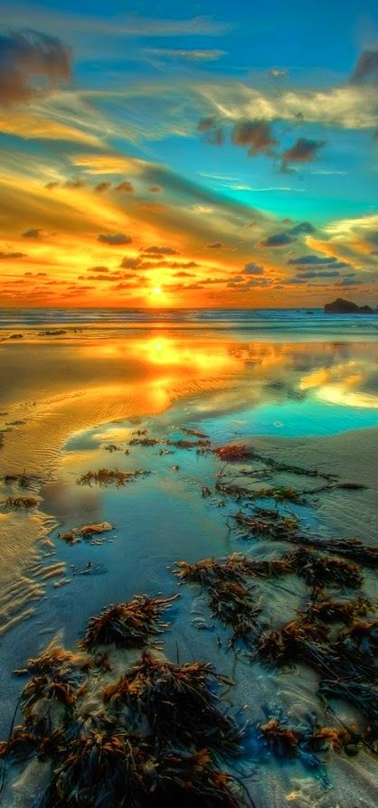Clouds come floating into my life, no longer to carry rain or usher storm, but to add color to my sunset sky. ~Rabindranath Tagore   Via @tanishamata. #England #NorthCornwall