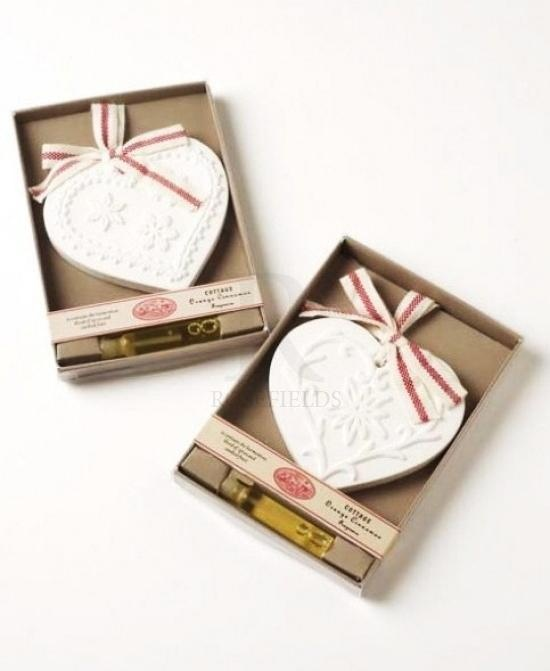 Scented Clay Hearts, just £4.95 each from nalahome.co.uk