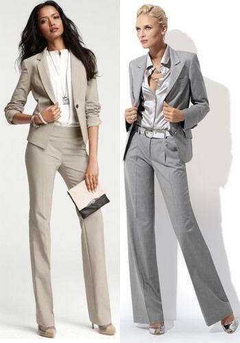 костюмы деловые фото женские