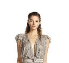 Lucette palazzi sequin vest $299 | threads and style