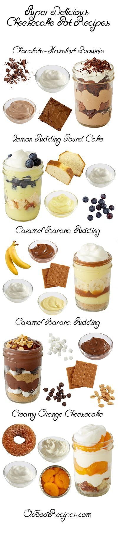 Super Delicious Cheesecake Pot Recipes