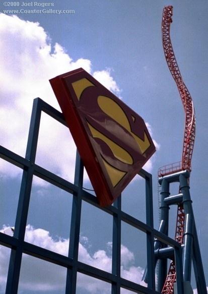 Superman Ultimate Flight - Geauga Lake & Wildwater Kingdom (Aurora, Ohio, USA)