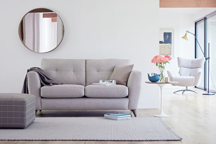 The Lounge Co. Holly 2.5 Seater Sofa in Cotton Linen Weave - Alpaca Fur #theloungeco #lounge #smalllounge #smalllivingroom #smallsofa #compactsofa #2seatersofa #apartment #flat #sofa #snuggler #storage