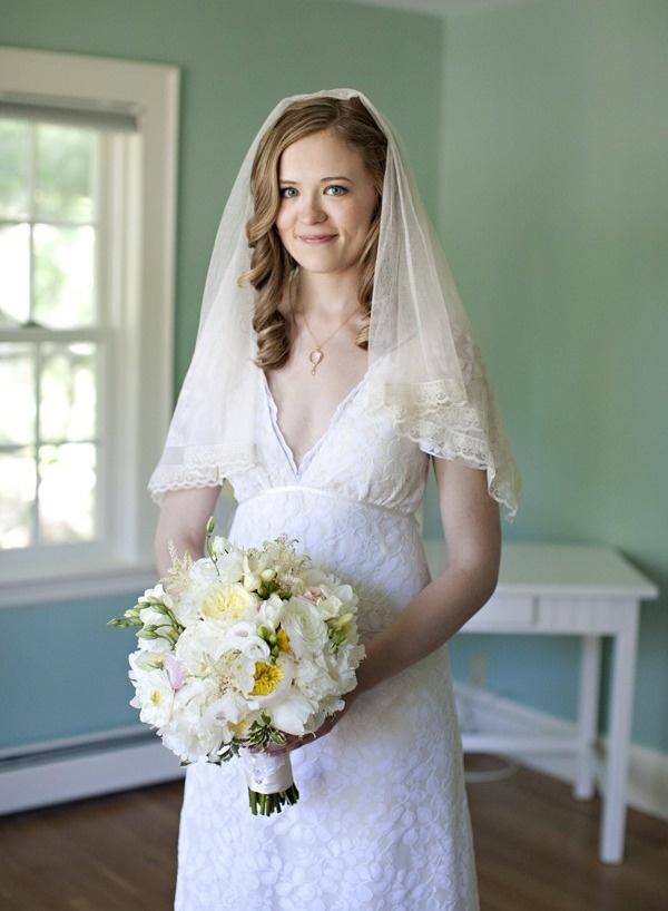 Lace gown: Kelima K.