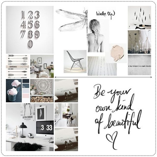 Blog Boss Oct/Nov 2014 e-course, color season mood board by sari jane home accents