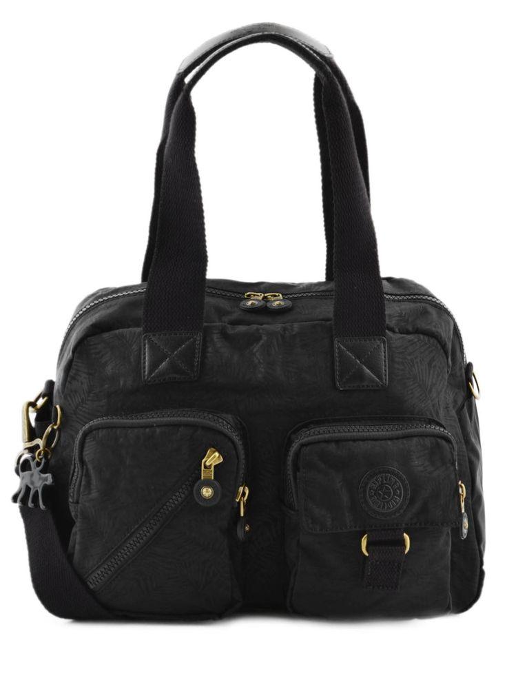 Sac shopping basic   Kipling Black leaf 110-00018217