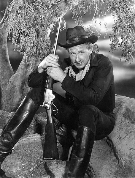 """Lloyd Bridges played William Colton, a former Union cavalry officer, in Rod Serling's first post-Twilight Zone series, """"The Loner."""" It ran for only one season (1965-1966)."""