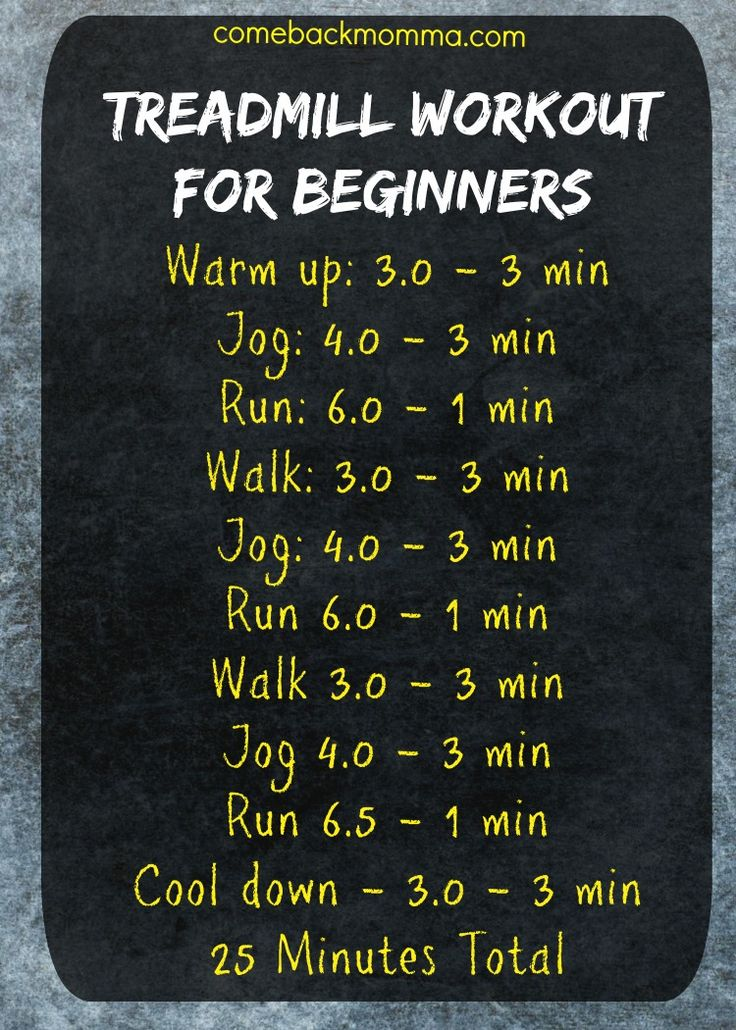 Here is a treadmill workout for beginners to try. I've included some tips for new treadmill users as well. Enjoy!