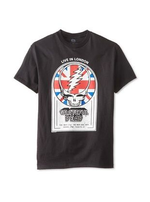 46% OFF Vintage Men's Grateful Dead Live In London T-Shirt (Black)