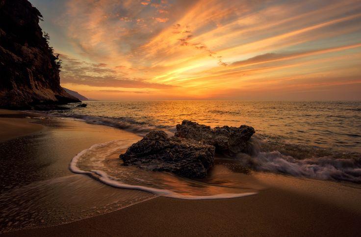 Ziu Santoru - Sunrise from Ziu Santoru, east coat of Sardinia.