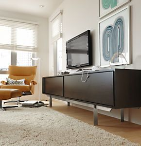 Smith Media Cabinets - Modern Media Storage - Modern Living Room Furniture - Room & Board
