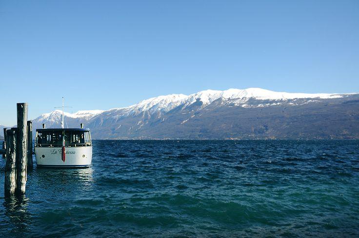 La Contessa, the Villa Feltrinelli's private boat. #villafeltrinelli #grandhotel #lakegarda #boat