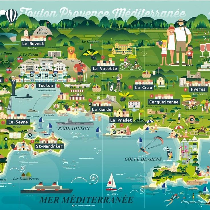 Map of south of France (Toulon #Provence #Méditerranée). Answer for  a call  for tender some months ago.  Full #vector.  #illustration #gfxmob #thedesignfix  #supplyanddesign #vaniladesign #genecreative #graphicgang #graphicdesigncentral #graphicroozane #holidays #sea #creativesnack #trafficonthemoon #tourism #var #map #carte #vacances #tourisme  poke @AggloTPM