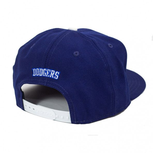 Boné New Era Snapback Los Angeles Dodgers Azul - MLB