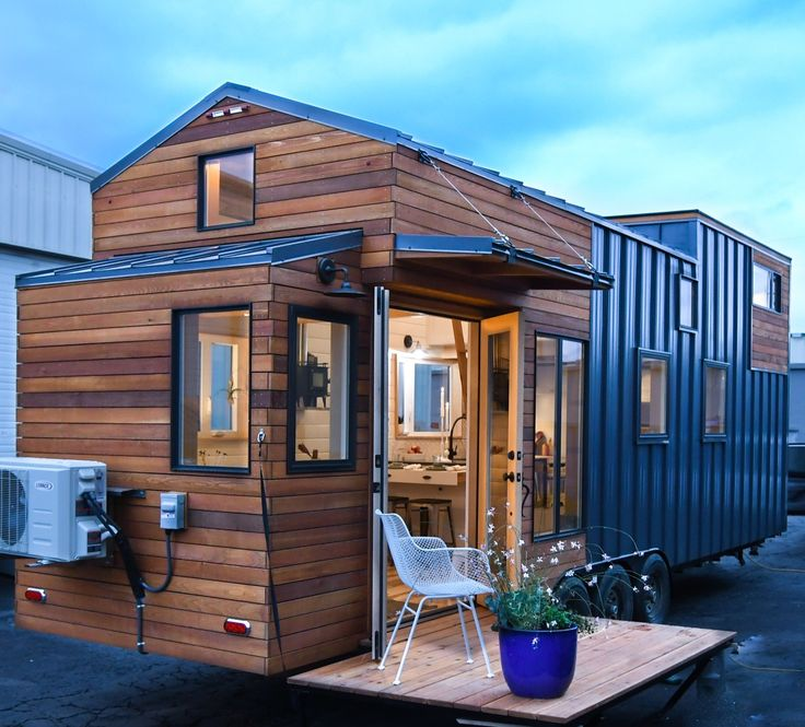 This Is A 28 Kootenay Tiny House On Wheels Built For Family By TruForm