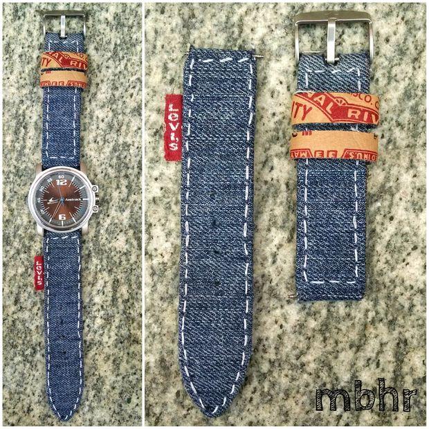 Picture of DIY Denim Watch Strap