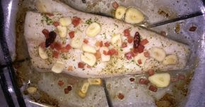 Super Easy Baked Hake Recipe by Maria Balagué  - Cookpad