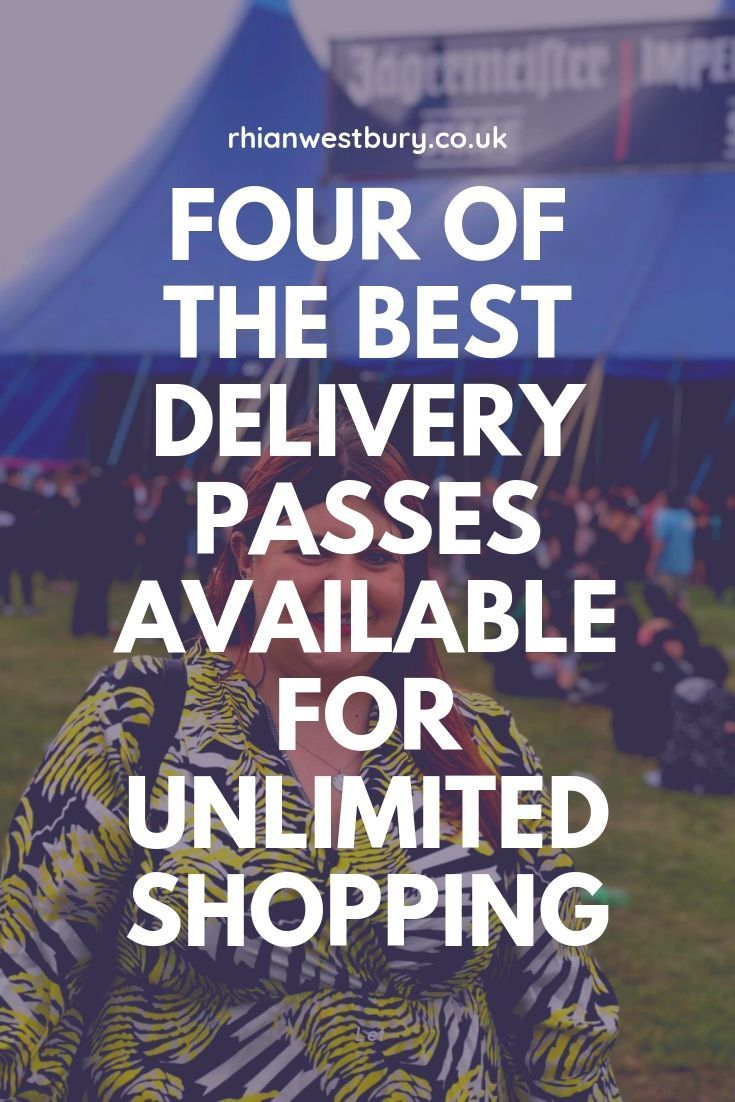 Four Of The Best Delivery Passes Available For Unlimited Shopping