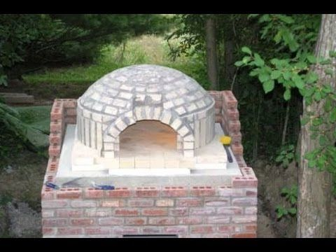 Самодельная печь для пиццы. Мастер класс