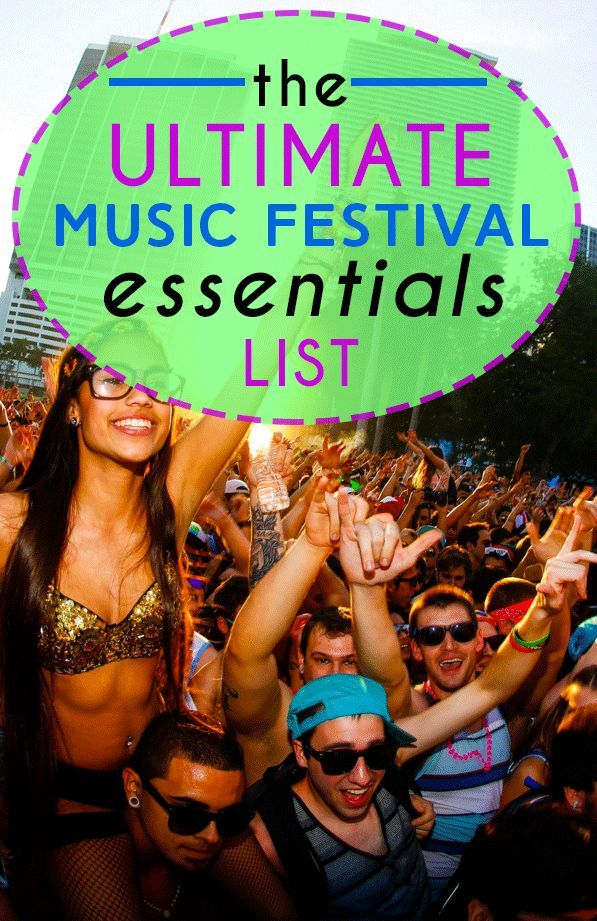 For many, music festival season is the most wonderful time of the year. You gather your group of best friends, splurge on a festival ticket, and spend an entire weekend dancing/sweating your butt off, sleeping outside and acting in ways you may later...