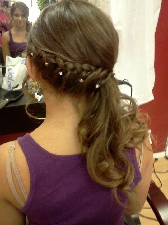 hair styles for teen dance