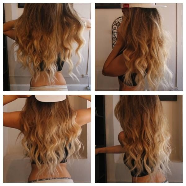 Bellami Hair Extensions Ombre 73