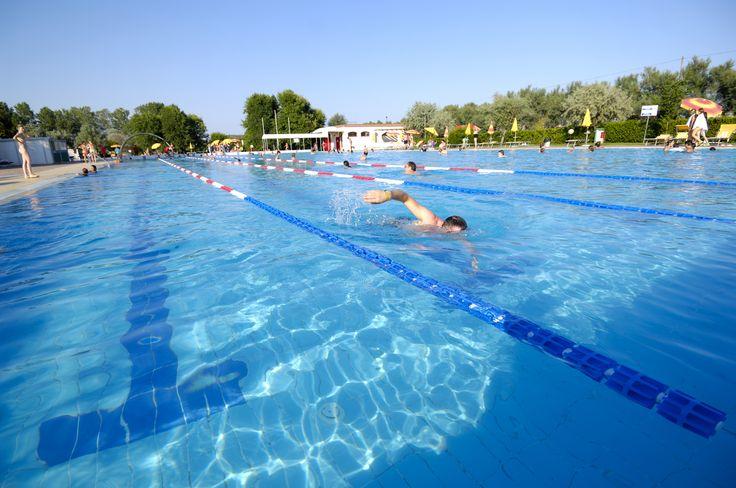 La piscina olimpionica