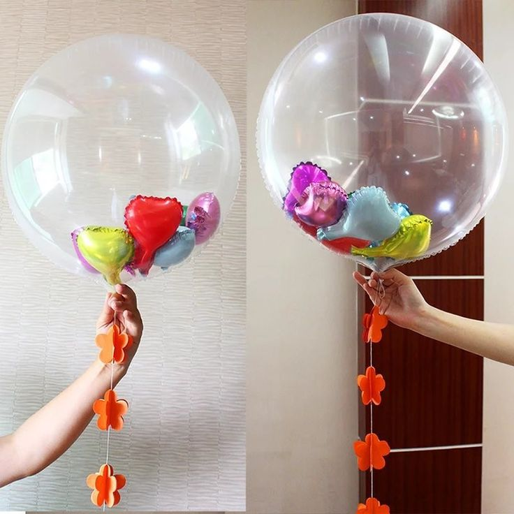 45pcs 65cm bis size Bubble Balloon for Small balloon in it kids toy birthday party gift no small balloons #Affiliate