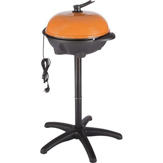 Barbecue électrique RUBISTAND orange