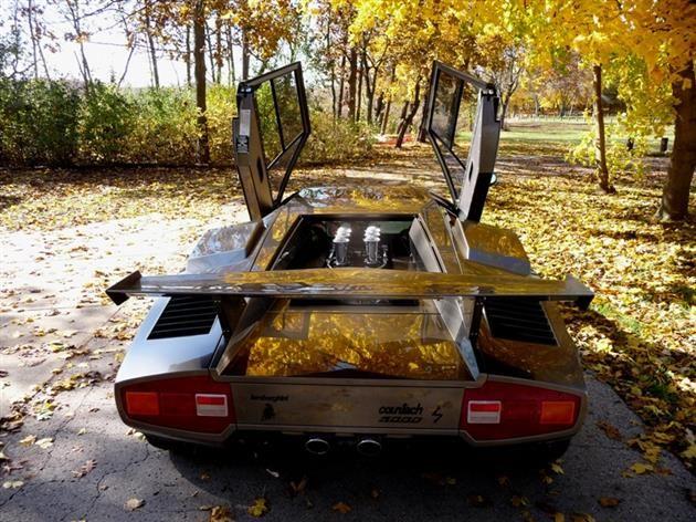 Lamborghini Countach Built In Mans Basement 15