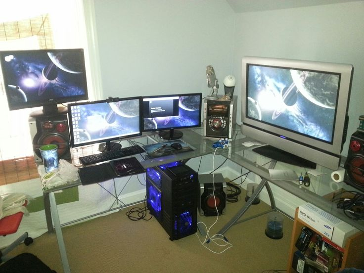 102 best gaming set-ups images on pinterest