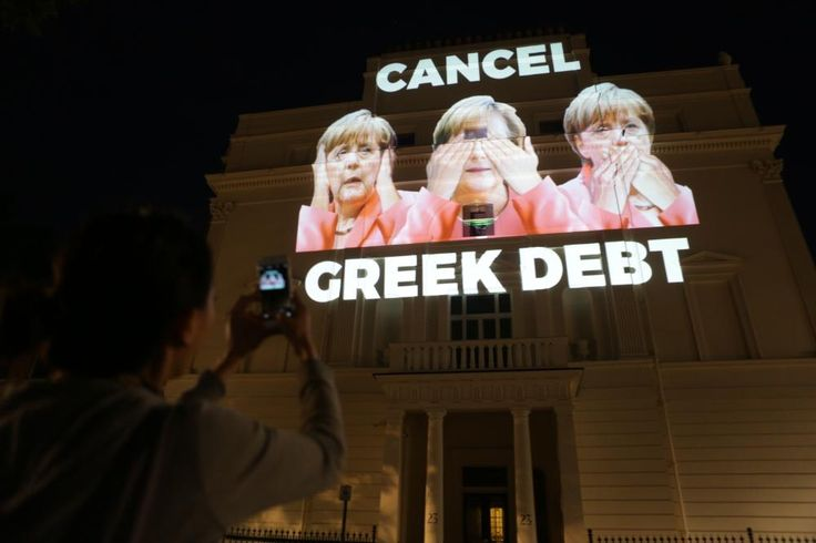 'We're Meeting a Man with a Fuck-Off Huge Projector': Meet the Europeans Standing in Solidarity with Greece   VICE News