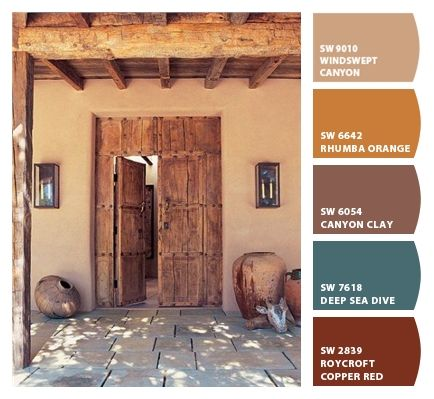 Best 25 cabin paint colors ideas only on pinterest - Interior paint colors that go together ...