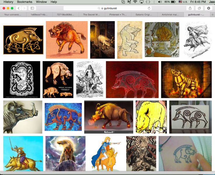 Gullinbursti image search. Most of them have 6s all over them. Gullinbursti was a magical boar from Norse legend.