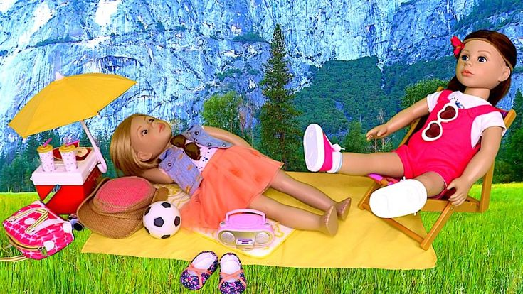 Play Bonnie Pearl Dolls Picnic Toys!   Playtoys