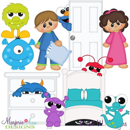 Monster Under The Bed SVG-MTC-PNG plus JPG Cut Out Sheet(s) Our sets also include clipart in these formats: PNG & JPG