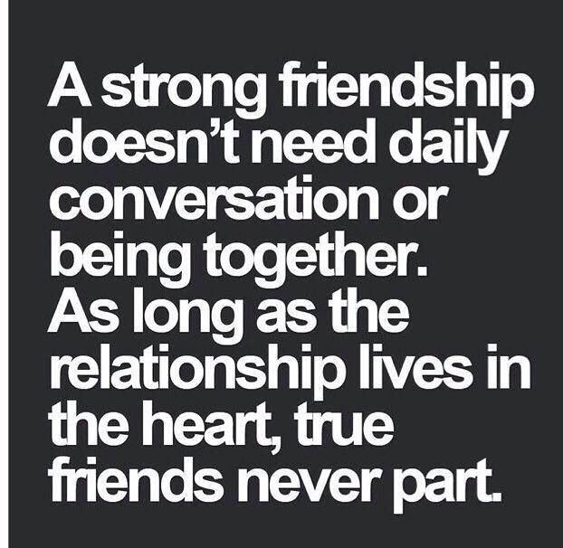 Long distance friendship quote
