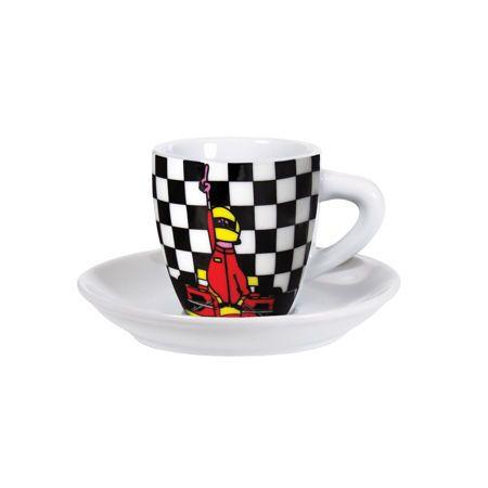 I motori e la velocità sono passioni per gente tosta, che vuole solo il meglio. Anche dal caffè. #Formula1